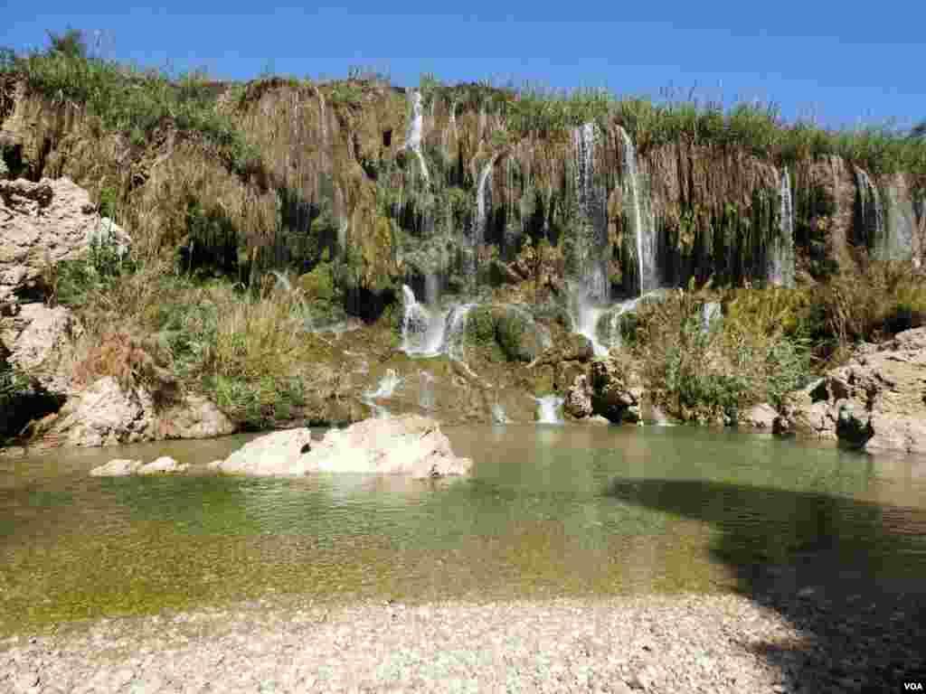 آبشار فدامی- فارس، داراب عکس: حسین (ارسالی شما)