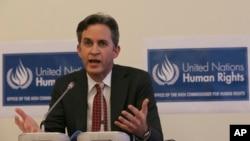 Pelapor khusus PBB urusan hak asasi manusia, David Kaye. (Foto: Dok)