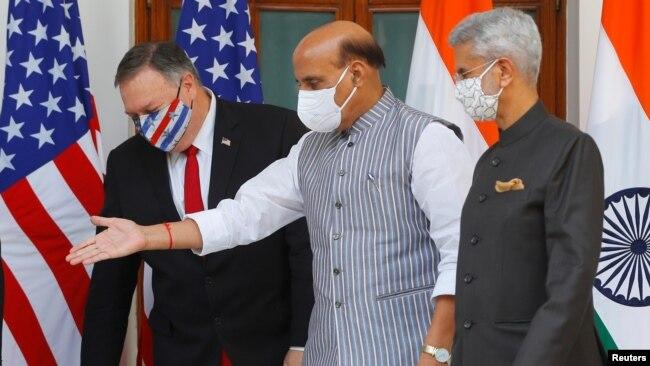 بھارت اور امریکہ نے منگل کو دفاعی معاہدے پر دستخط کیے تھے۔
