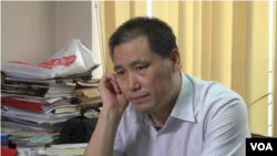 為杜斌辯護的維權律師浦志強(美國之音東方拍攝 )