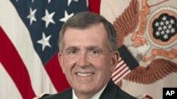 陆军副参谋长彼得·齐亚雷利将军(资料照片)