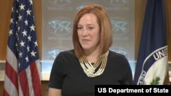 国务院发言人莎琪(照片来源:美国国务院)