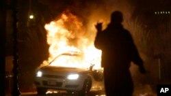 弗格森2014年11月騷亂的資料照。