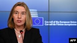 Kepala Kebijakan Luar Negeri Uni Eropa Federica Mogherini (foto: dok).