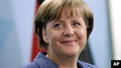 德國總理默克爾 (資料照片)