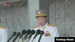 최룡해 군 총정치국장 (자료사진)