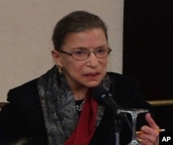 Current US Supreme Court Justice Ruth Bader Ginsburg argued Reed v Reed before the high court as a young lawyer.