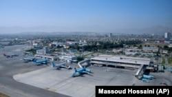 Afganistan'ın başkenti Kabil'deki Hamid Karzai Uluslararası Havaalanı