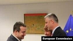 Kosovo, Hashim Thaci & Ivica Dacic