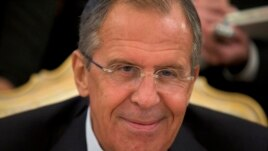 FILE - Russian Foreign Minister Sergey Lavrov.
