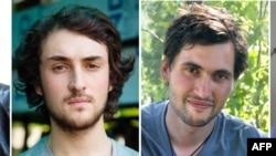 在叙遭绑架的法国记者中的其中二人