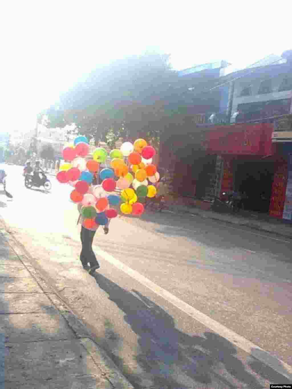 Bong bóng (Ảnh: Nguyen Huu Thanh)