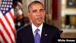 President Obama in White House video Jun 22, 2013.