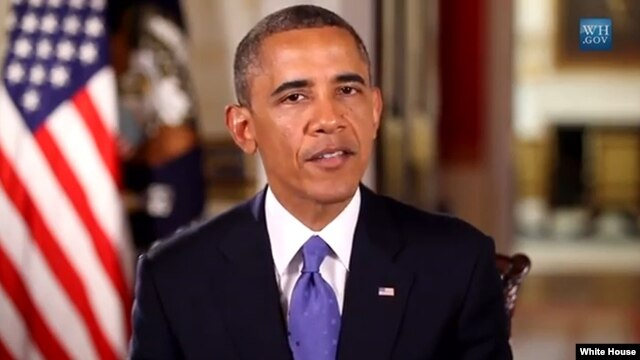 President Obama in White House video Jun 22, 2013
