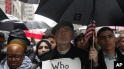 종교간 화합을 촉구하는 미국인들