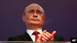 Presiden Rusia Vladimir Putin mengakui kawasan Krimea di Ukraina sebagai sebuah negara merdeka (foto: dok).