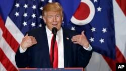 川普在俄亥俄州的競選大會上講話(2016年10月13日)