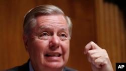 Сенатор-республиканец Линдси Грэм (архивное фото)