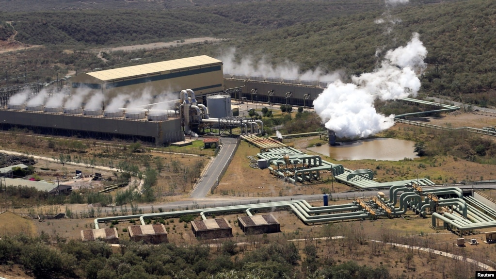 A general view shows a cross-section of the Olkaria IV Geothermal power plant near the Rift Valley town of Naivasha, Kenya, Feb. 15, 2018.