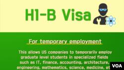 Một tóm tắt về visa H1-B