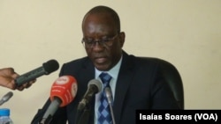 Comissário António José Bernardo, delegado provincial do Ministério do Interior em Malanje
