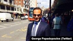 George Papadopoulos, ancien membre de l'équipe de campagne de Donald Trump. (Twitter)