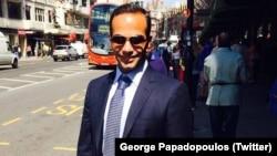 George Papadopoulos, penasihat kebijakan luar negeri Presiden AS Donald Trump (foto: dok).