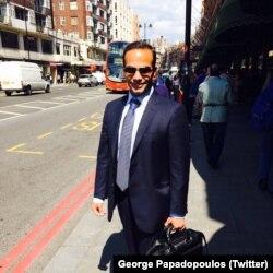 George Papadopoulos, exasesor de política exterior de la campaña presidencial de Donald Trump.