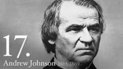 Quiz - America's Presidents: Andrew Johnson