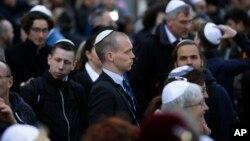 Берлин: участники демонстрации против проявлений антисемитизма (архивное фото)