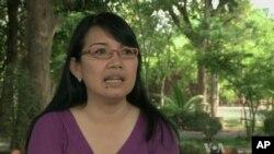 Nhà hoạt động Miến Điện Khin Ohmar sống lưu vọng ở Thái Lan đã 23 năm nay