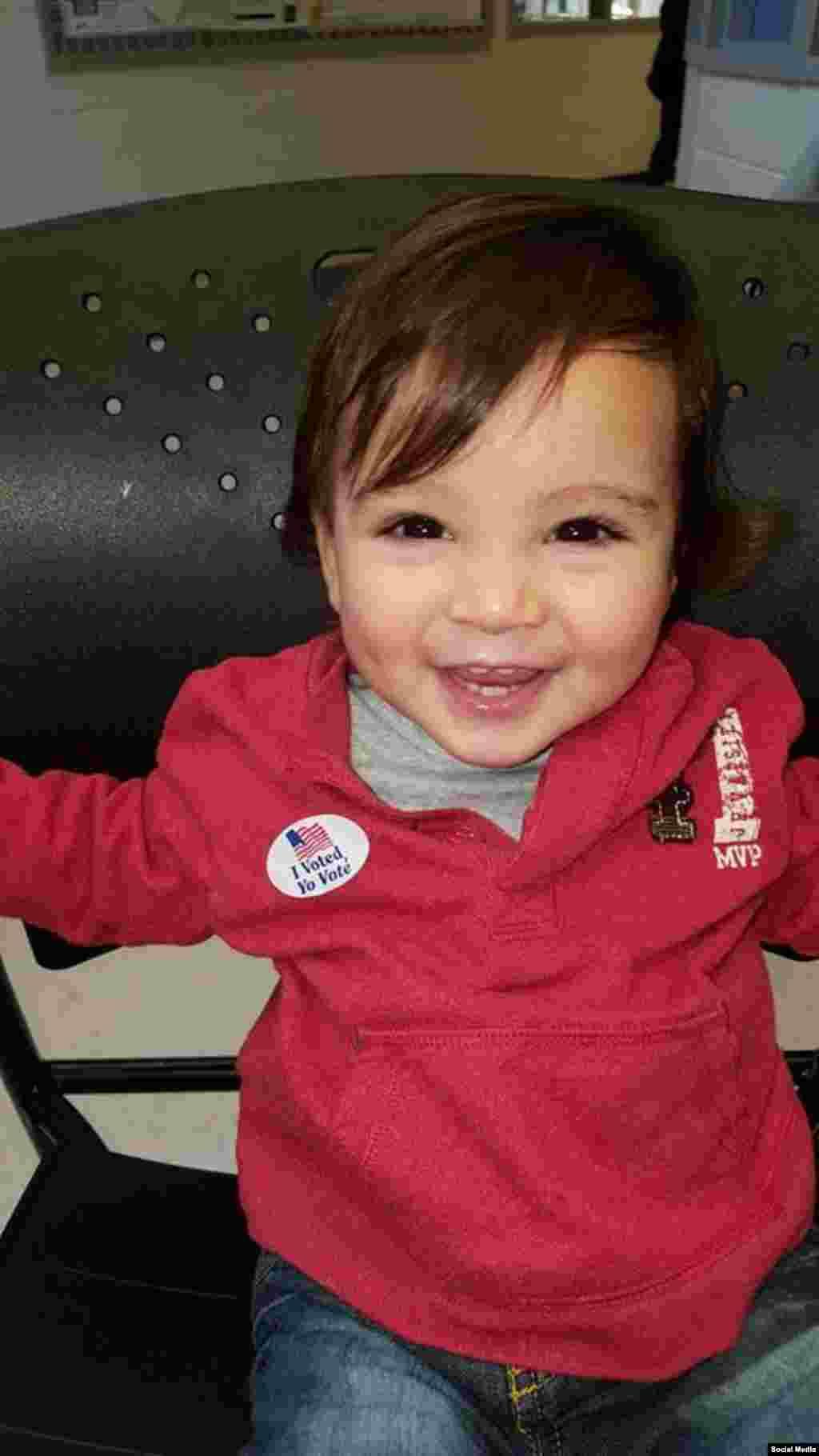 رای گیری انتخابات ریاست جمهوری آمریکا در ایالت مریلند، عکس ارسالی: Maria Vogel