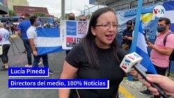 Protestas de nicaragüenses en Costa Rica