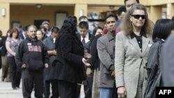 Претенденты на рабочие места в Калифорнии