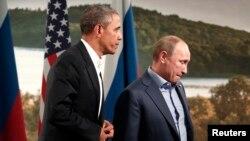 Prezidentlar Barak Obama va Vladimir Putin oxirgi bor o'tgan yili Shimoliy Irlandiyada Katta Sakkizlik sammitida yuzma-yuz gaplashgan edi.