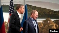 Obama i Putin u Enniskillenu, Sjeverna Irska, sredinom juna. Septembarski susret u Moskvi američki predsjednik otkazao.