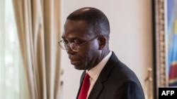 Augustin Matata Ponyo, ministre wa Yambo ya kala mpe Sénateur, na Kinshasa, RDc, 13 avril 2015.