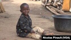 En images : à Abuja, un camp de déplacés pour les Nigérians qui fuient Boko Haram