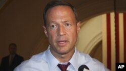Mantan Gubernur Maryland, AS, Martin O'Malley.