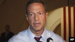 El gobernador demócrata de Maryland, Martin O´Malley, fue uno de los participantes en la reunión.