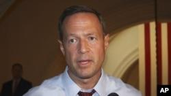 El gobernador demócrata de Maryland, Martin O´Malley, anunció su retiro de la campaña presidencial.