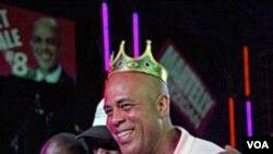 Kandida a laprezidans Michel Martelly
