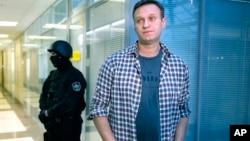 Ruski opozicionar Aleksej Navalni, arhivski snimak (Foto: AP/Alexander Zemlianichenko)
