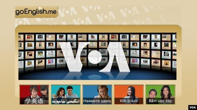 VOA's goEnglish.me adds Vietnamese