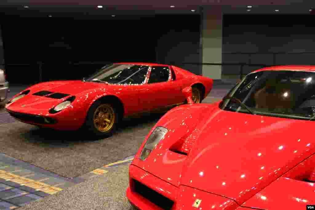 نمایشگاه اتومبیل واشنگتن لامبورگینی Model: Miura