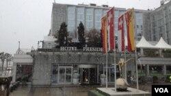 هتل پرزیدنت ویلسون؛ محل مذاکرات هسته ای در ژنو