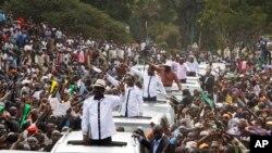 Rally in Nairobi's Uhuru Park