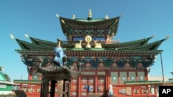 Buddhist temple in Buryatia, Russia