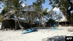 FILE - A South African-owned holiday camp on Inhaca Island, Mozambique, June 28, 2007.
