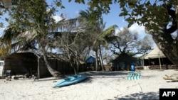 Estância turística sul-africana na Ilha de Inhaca em Moçambique